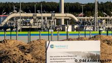 Nord Stream 2 facilities Lubmin, Germany