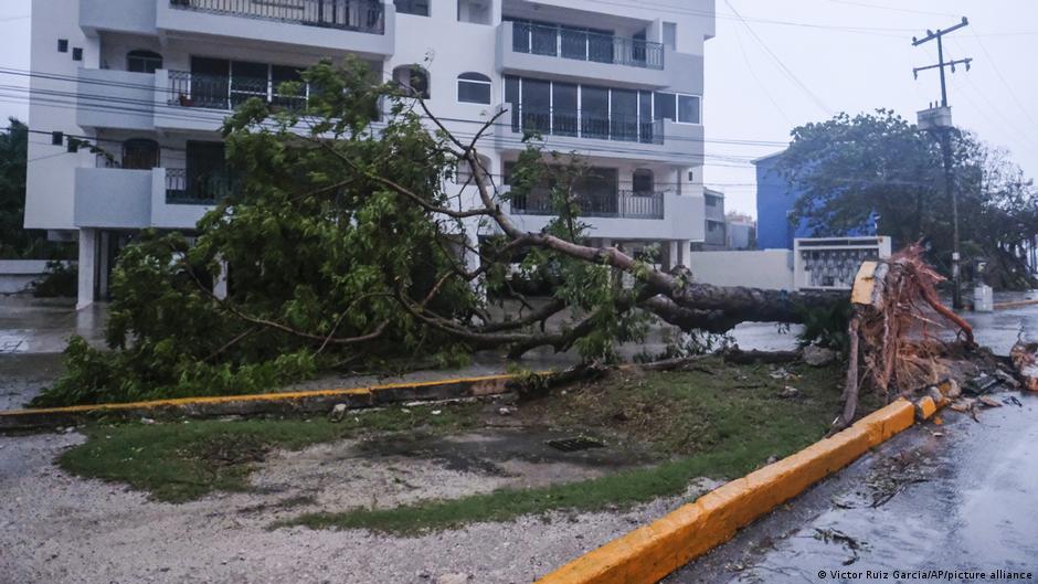 Huracán del Delta de Cancún México