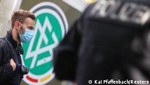 Deutschland Frankfurt Durchsuchung beim DFB