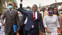 Elfenbeinküste l Pascal Affi N'guessan FPI - Präsidentschaftskandidat