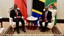 Tansania Offizieller Besuch des Präsidenten von Malawi in Tansania