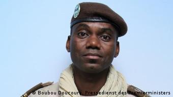 Le colonel Sadio Camara le 7 octobre 2020