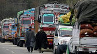 Trucks are responsible for many road accidents in India