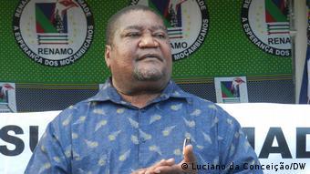 Mosambik Ossufo Momade, Vorsitzender der mosambikanischen Partei RENAMO