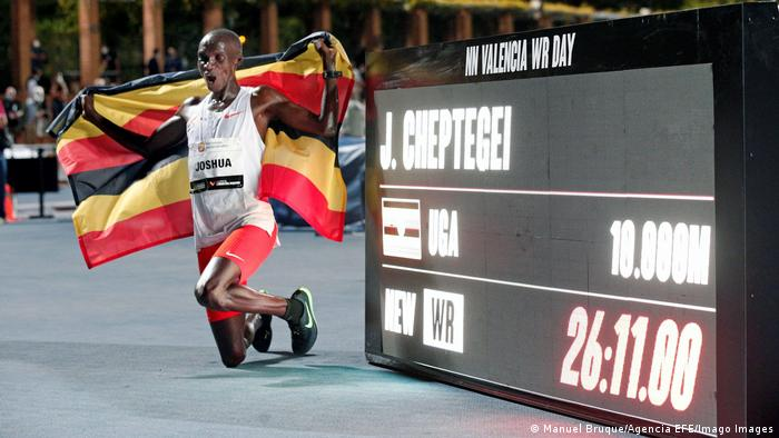 Leichtathletik-Meeting in Valencia I Weltrekord 10.0000m I Josia Cheptegei
