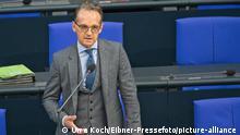 Deutschland I Fragestunde BT - Heiko Maas - Bundesregierung