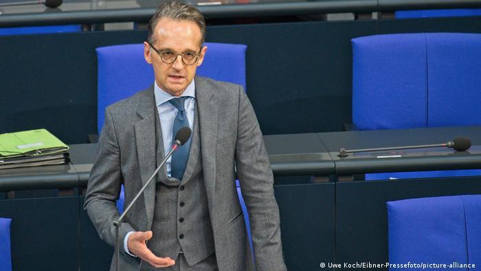 Heiko Maas u Bundestagu