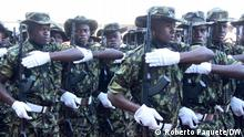 Mosambik I Soldaten der mosambikanischen Armee