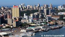 Mosambik I Luftbild der Stadt Maputo