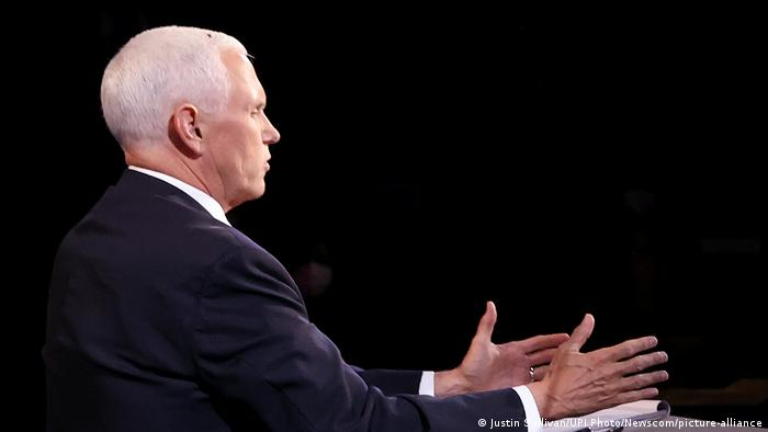 USA TV Debatte Pence und Harris in Utah (Justin Sullivan/UPI Photo/Newscom/picture-alliance)