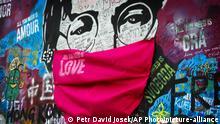 Tschechien Street Art John Lennon in Prag