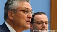 Deutschland Coronavirus PK Lothar Wiehler und Jens Spahn