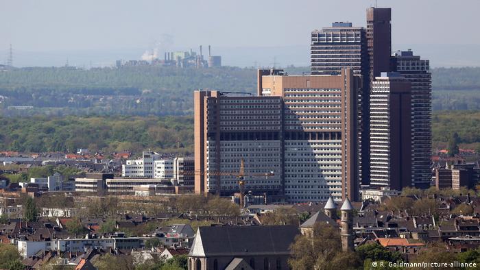 Жилищната сграда в Кьолн, която е една от най-високите в цяла Европа