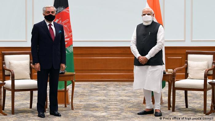 Indien Neu-Delhi | Treffen Abdullah Abdullah mit Narenda Modi
