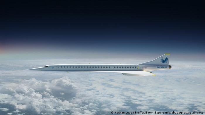 Модель надзвукового літака Overture компанії Boom Supersonic