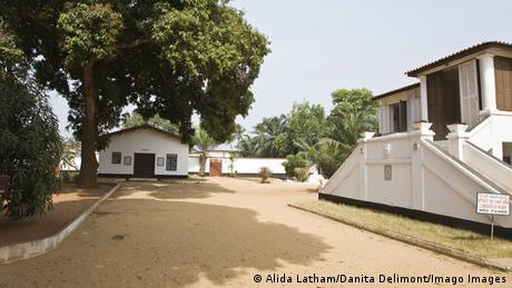 The grounds of the Ouidah Museum of History in Benin