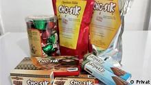 Schokoladen-Produkte aus Flores