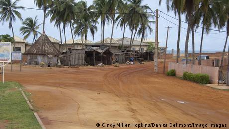 The Route of the Slaves road in Ouidah, Benin