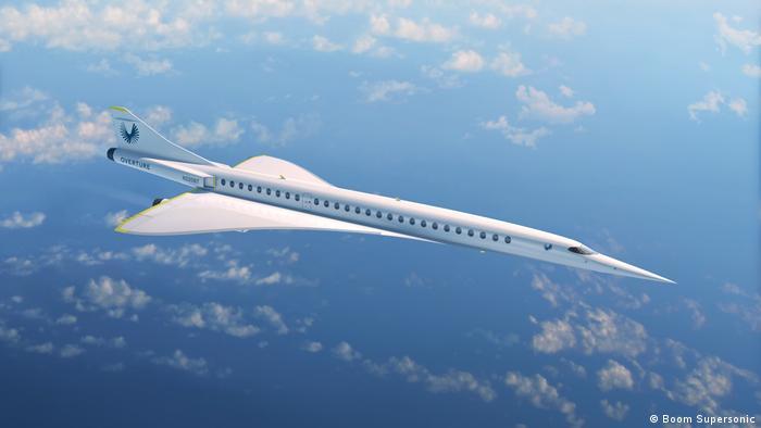 Поки що це тільки комп'ютерна графіка: надзвуковий пасажирський літак Overture
