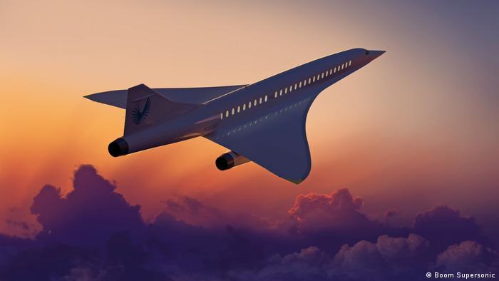надзвуковий пасажирський літак Overture