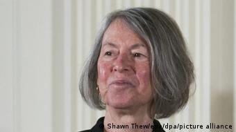 Louise Glück Literatur-Nobelpreis 2020 (Shawn Thew/epa/dpa/picture alliance)