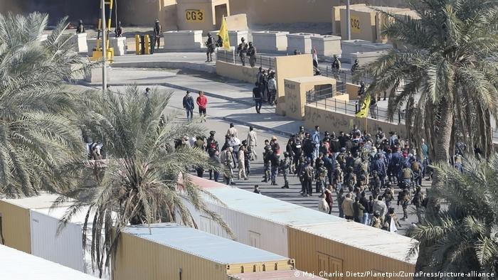 US Botschaft Baghdad Proteste
