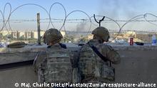 Amerikanische Soldaten Baghdad (Maj. Charlie Dietz/Planetpix/ZumaPress/picture-alliance)