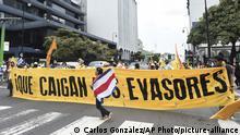 Costa Rica San José | Protest Steuern