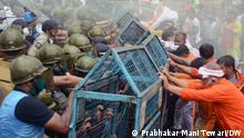 Indien Kolkata Gewaltsame Proteste bei BJP-Umzug