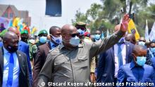 DR Kongo Goma | Besuch Präsident Félix Tshisekedi