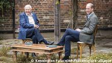 Earthshot Prize founders David Attenborough and Prince William (Kensington Palace/AP Photo/picture-alliance)