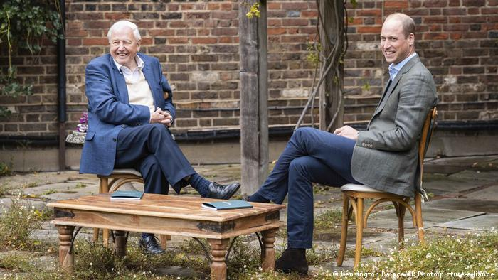 Earthshot Prize founders David Attenborough and Prince William