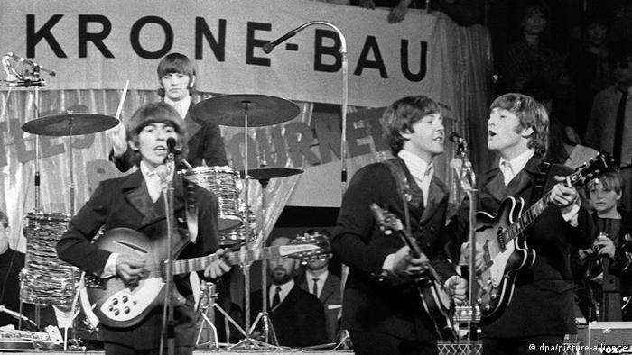 Deutschland München 1966   Konzert der Beatles