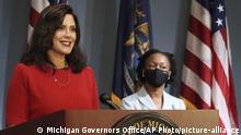 USA Michigan |Gretchen Whitmer, Gouverneurin