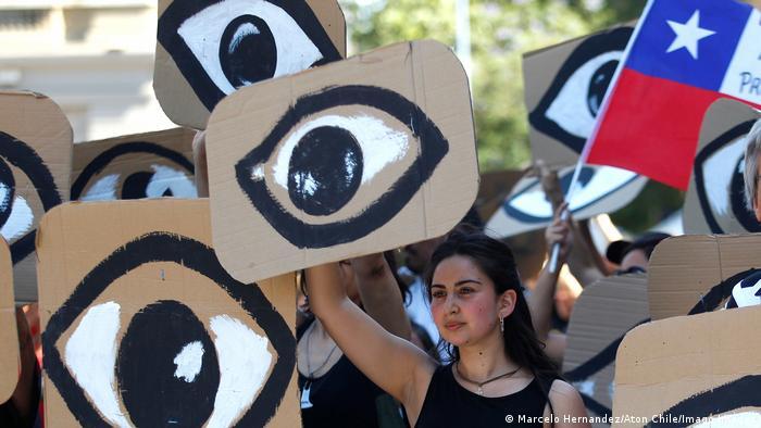 Proteste in Chile (Marcelo Hernandez/Aton Chile/Imago Images)