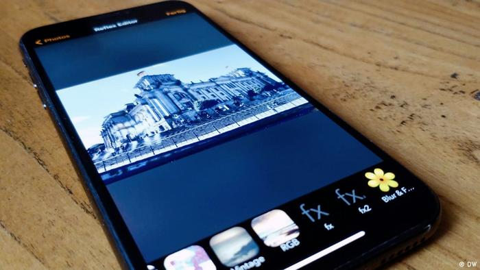 DW Shift Fotobearbeitungs-Apps im Test |DSLR Camera
