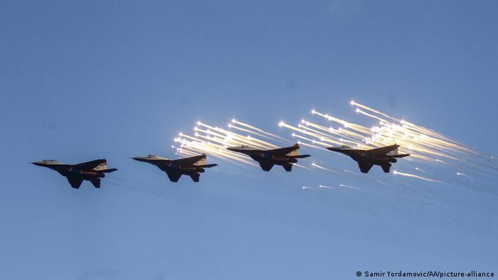MiG-ovi u sastavu srpskog zrakoplovstva