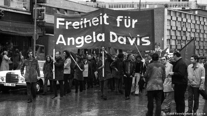 Protest for Angela Davis