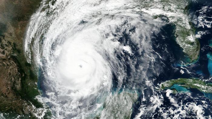 Hurricane Delta (NASA/AP/picture-alliance)