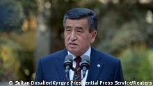 Kirgistan Präsident Sooronbai Jeenbekov