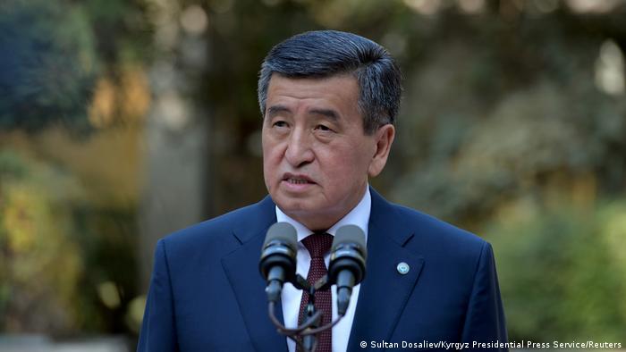 Kırgızistan Devlet Başkanı Sooronbay Ceenbekov
