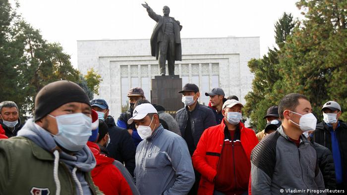 Kırgızistan'da protesto gösterileri düzenlenmişti