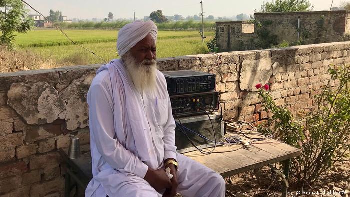 প্রতিবাদে ভারতের কৃষকরা
