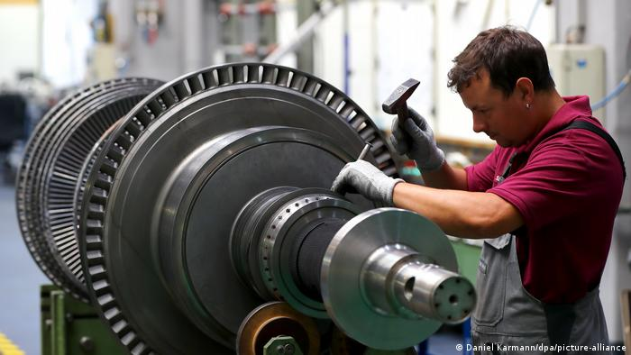 Deutschland Siemens Gasturbinen