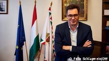 Ungarn Bürgermeister von Budapest Gergely Karácsony