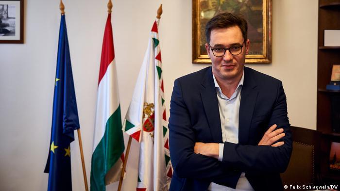 Gergely Karácsony, primarul general al Budapestei (Felix Schlagwein/DW)
