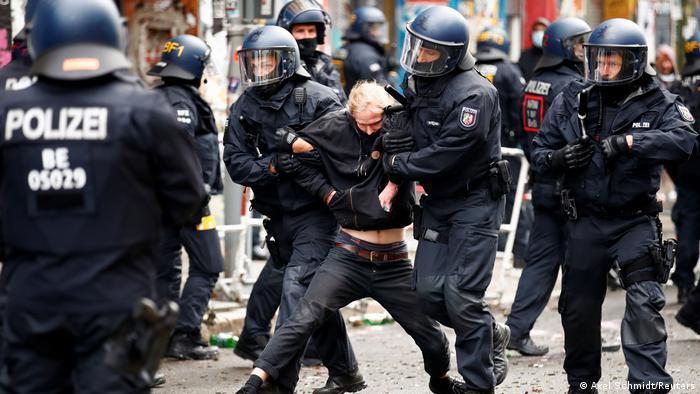 Deutschland Räumung von «Liebig 34» (Axel Schmidt/Reuters)
