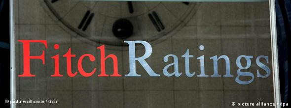 Firmenschild Fitch Rating (Foto: picture-alliance/dpa)