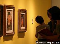 Sala de  exposições no Martin Gropius Bau