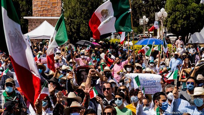 Protestas de agricultores en Chihuahua.